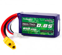 Turnigy Nano-Tech 850mAh 3S 70C Lipo Pack w/XT60 (HR Technology)