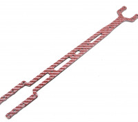 Blaze 1/10 Spare Parts - 4WD Color Fiber Upper Deck 2.5mm (Red)