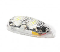 EasyLight Self Contained LED Flashing Light w/Battery (White) 1