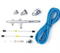 Kit Airbrush Pro Series per gravità con doppia azione trigger