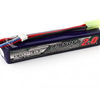 Turnigy nano-tech 2000mah 3S 15 ~ 25C Lipo AIRSOFT Confezione