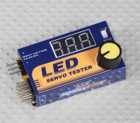 Dipartimento Funzione Servo tester LED