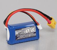 Turnigy 800mAh 2S 40C Lipo Confezione