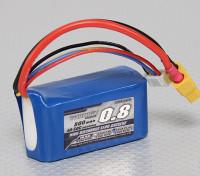 Turnigy 800mAh 3S 40C Lipo Confezione