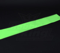 Luminescenti (Glow al buio) autoadesiva Film (Verde) - 1.200 millimetri x 200 mm