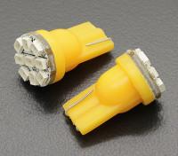 Luce del cereale LED 12V 1.35W (9 LED) - Giallo (2 pezzi)