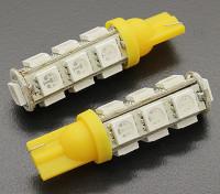 Luce del cereale LED 12V 2.6W (13 LED) - Giallo (2 pezzi)