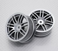 Scala 1:10 di alta qualità Touring / Drift Wheels RC 12 millimetri Hex (2pc) CR-RS4S