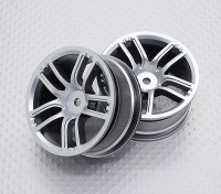 Scala 1:10 di alta qualità Touring / Drift Wheels RC 12 millimetri Hex (2pc) CR-GTS
