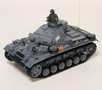 Panzer III Kampfwagen Ausf.L RC serbatoio RTR w / Airsoft & Tx