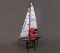 Vetroresina RC Yacht a vela Thunder 1.000 millimetri (ARR)