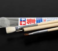 Tamiya Standard 3 pezzi Brush Set