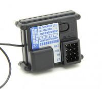 Sanwa / Airtronics RX-371W 2,4 GHz FH-2 3CH Ricevitore impermeabile