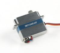 Turnigy ™ TGY-245-LV Low Voltage DLG Ala Servo w / involucro in lega di 1,4 kg / 0.12sec / 8.6g
