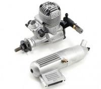 OS Max 15LA Two Stroke Motore di incandescenza