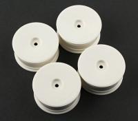 Squadra Sorex rotella 24 millimetri piatto 0 millimetri Offset (4 pezzi)