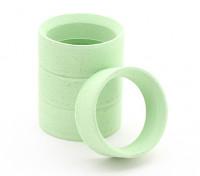 Sweep SMI-H Mini muffa della gomma Inserisce verdi - Hard (4 pezzi)