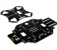 S500 fibra di vetro Quadcopter ricambio Main Frame w / Intergrated PCB
