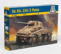 Italeri Sd.Kfz 1/35 Scala. Kit 234/2 Puma Pastic Modello
