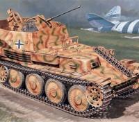 Italeri 1/35 Scale Kit tedesco Sd.Kfz.140 Flakpanzer 38 Gepard plastica Modello