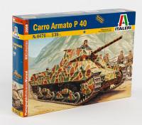 Italeri 1/35 Scale Kit Carro Armato P40 plastica Modello