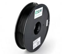 ESUN 3D filamento stampante Nero 1,75 millimetri ABS 0.5KG Spool
