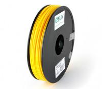 ESUN 3D filamento stampante 3 millimetri giallo ABS 0.5KG Spool