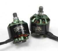 Multistar Elite 2312 980KV Motor Set CW / CCW EZO Cuscinetti, 4mm albero principale, N45SH magneti (2 motori)