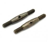 Trackstar 1/8 molla in acciaio Turnbuckle M4x35 (2 pezzi)