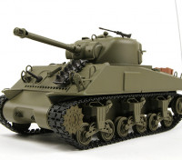 US-M4A3 Sherman medio RC serbatoio RTR w / Tx (Warehouse EU)