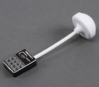Mi600s mini 5.8GHz 600mW 32CH trasmettitore video wireless (nero)