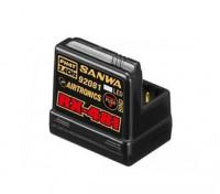 Sanwa RX-481 2.4GHz FH3 / FH4T Super Response Ricevitore 4 canali con antenna incorporata