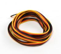 22AWG Servo filo 2mtr (rosso / nero / giallo)