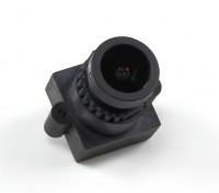 """2,8 millimetri bordo lente F2.0 Dimensioni CCD 1/3 """"Angolo 160 ° Angolo w / Mount"""