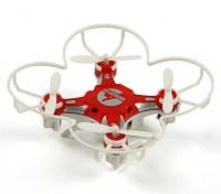 FQ777-124 Pocket Drone 4CH 6Axis Gyro Quadcopter Con commutabile Controller (RTF) (Red)