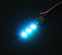 3 RGB LED 7 di colore del bordo 5V con Futaba Style Plug