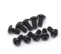 pezzi di metallo rotonda Machine Head Vite Esagonale M2.5x5-10 / set