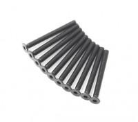 Metallo a testa piatta macchina Vite Esagonale M3x32-10pcs / set
