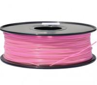Dipartimento Funzione 3D filamento stampante 1,75 millimetri PLA 1KG spool (colore rosa)