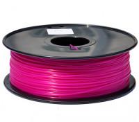 Dipartimento Funzione 3D filamento stampante 1,75 millimetri PLA 1KG spool (rosa scuro)