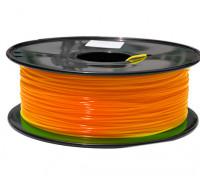 Dipartimento Funzione 3D filamento stampante 1,75 millimetri PLA 1KG spool (fluorescente arancione)