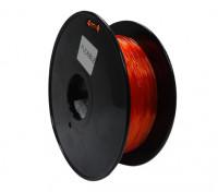 Dipartimento Funzione 3D filamento stampante 1,75 millimetri flessibile 0.8kg spool (arancione)