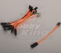 10CM Servo di piombo (JR) 32AWG Ultra Light (10pcs / bag)