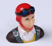 Parkfly Classic Era Pilot (Red) (H37 x L40 x D22mm)