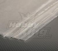 Fibra di vetro stoffa 450x1000mm 18g / m2 (Super sottile)