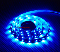 Turnigy ad alta densità di R / C LED striscia flessibile-Blue (1mtr)