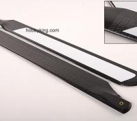 500 millimetri in fibra di carbonio TIG Z-tessuto principale Blades