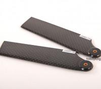 105 millimetri in fibra di carbonio TIG Tail Blade