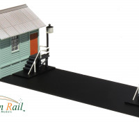 Southern Rail HO Scale NSW Country Signal Box and Staff Exchange