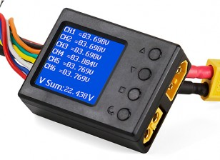 On-Board Multi Function Wattmeter 6-26V 10-90A